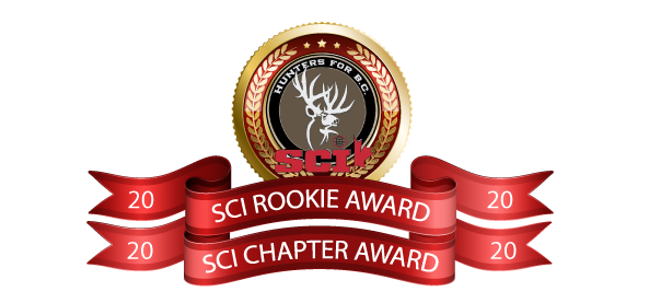 sci chapter awards hunters for bc
