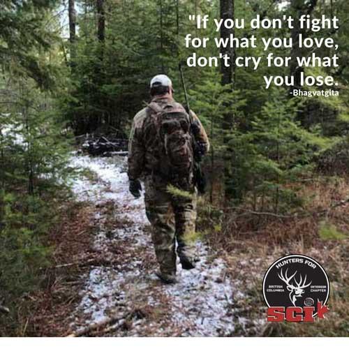 hunter walking trail in british columbia