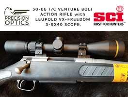 precision optics donation rifle scope