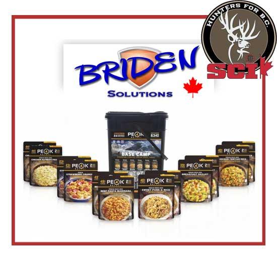 briden solutions freeze dried meals